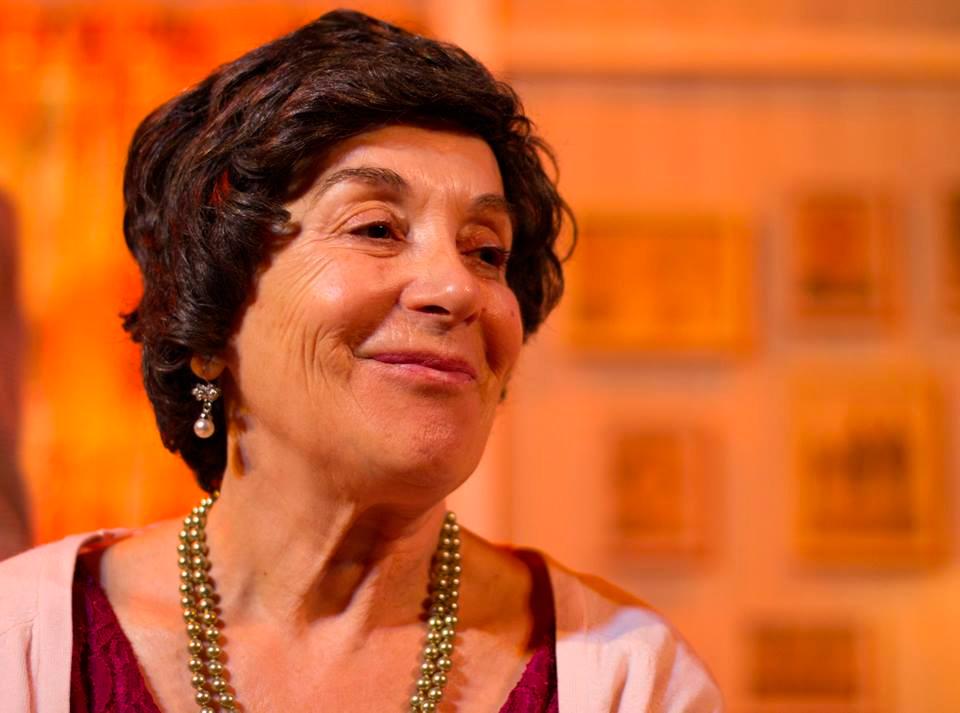 A actriz Mela Casal leva o Premio de Honra Fernando Rey