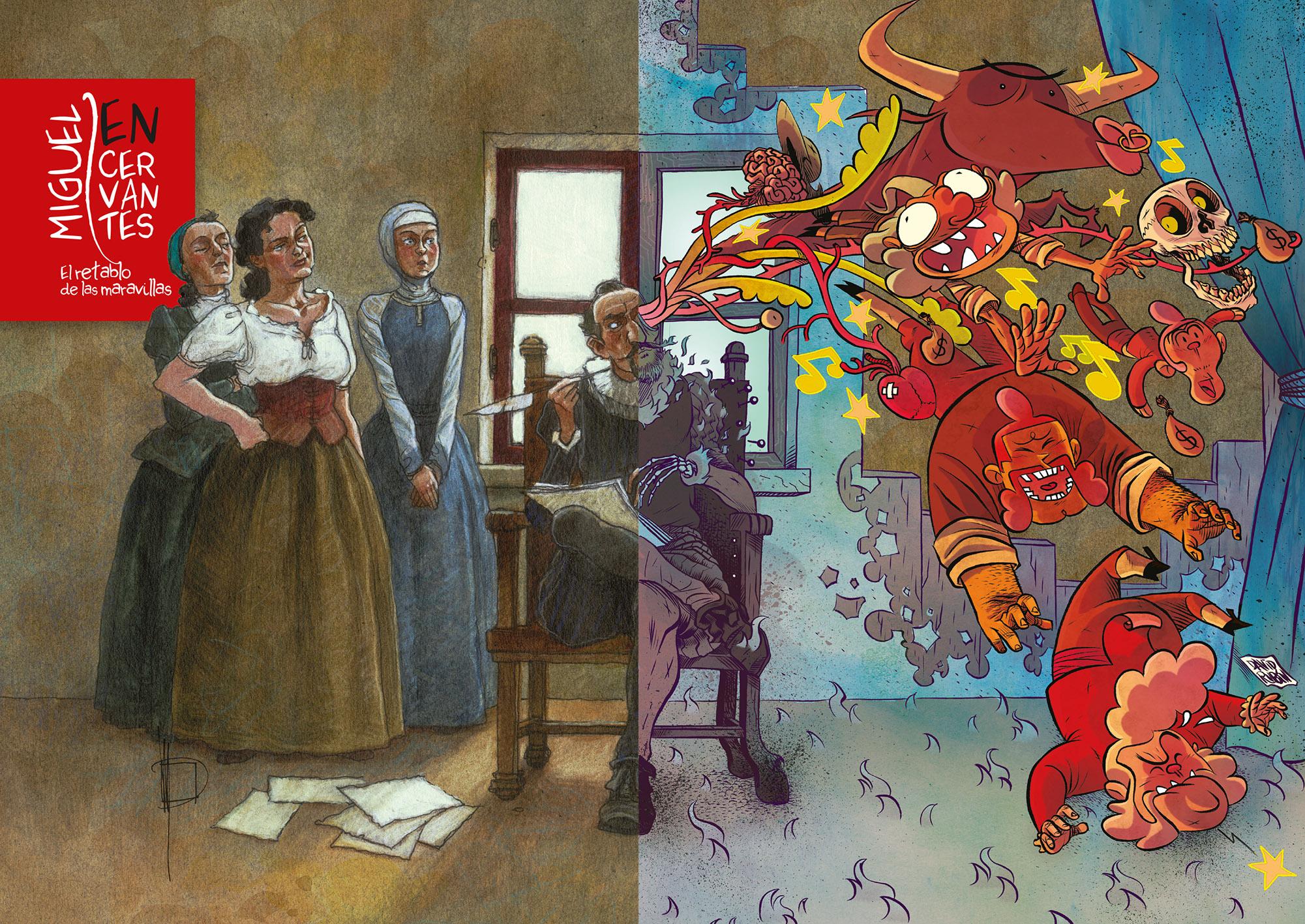 Unha homenaxe a Cervantes e mais unha obra infantil son as novidades dos autores galegos