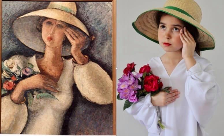O Museo de Pontevedra e o de Belas Artes da Coruña animan a imitar en imaxe real pinturas das súas coleccións