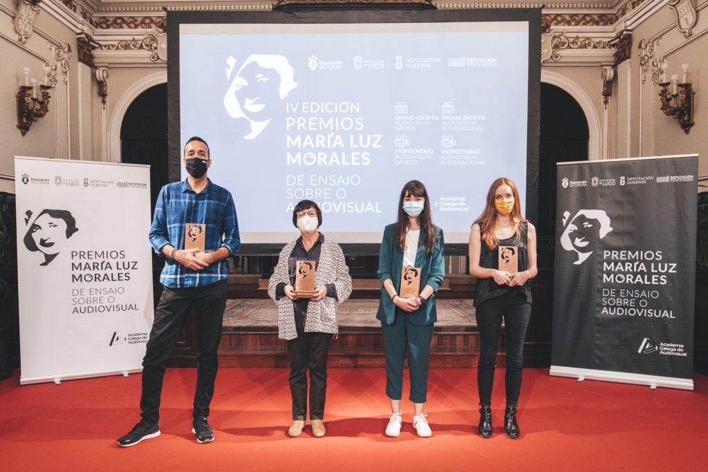 Alba Gallego, Ester García Mera, Iván Villarmea e José Manuel López son os gañadores da cuarta edición do certame da Academia Galega do Audiovisual