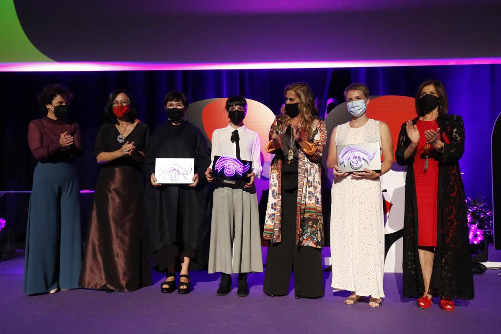 Premio ' Mulleres no Foco' para Margarita Ledo, Noemí Chantada e Sonia Méndez