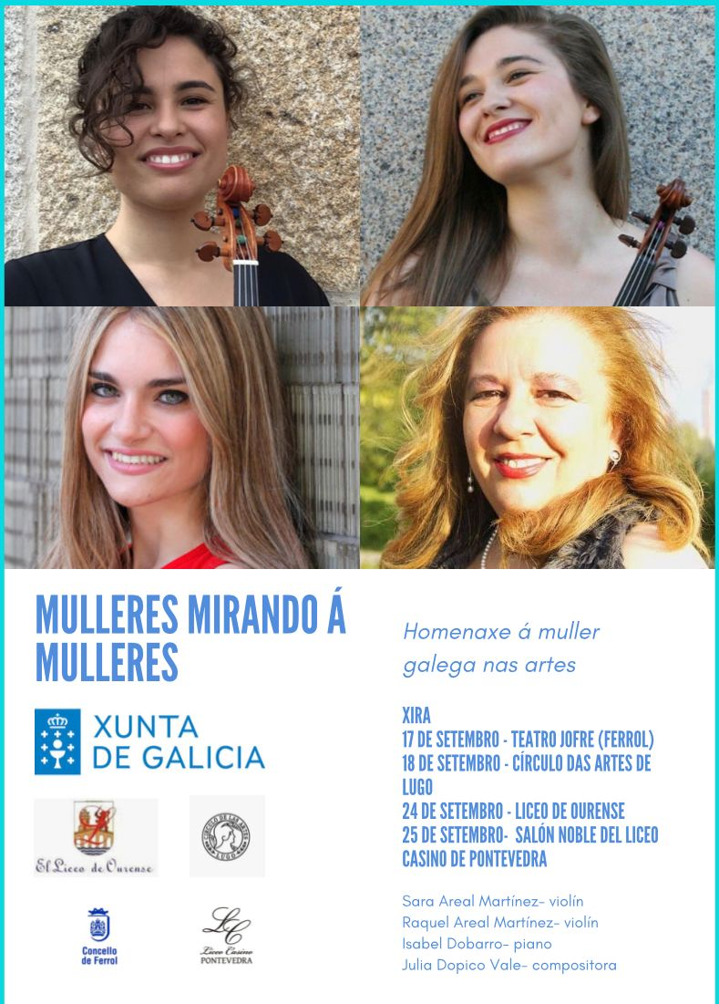 O Teatro Jofre de Ferrol abre este ciclo de catro concertos o 17 de setembro