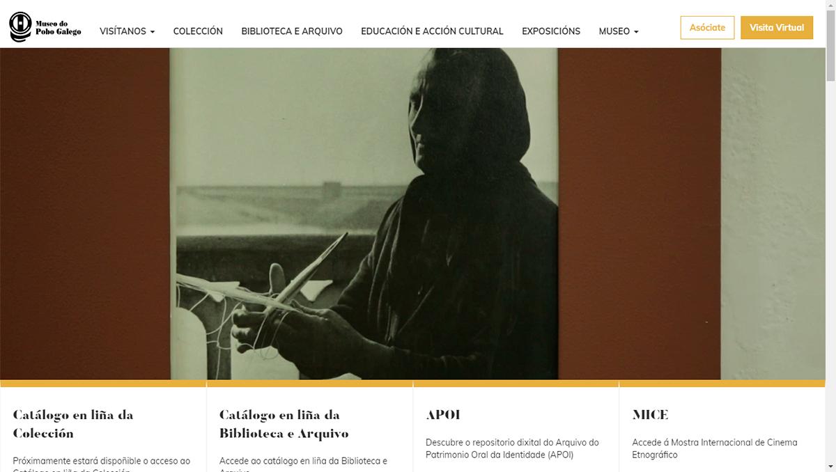 A nova páxina web inclúe a visita virtual e unha aplicación propia