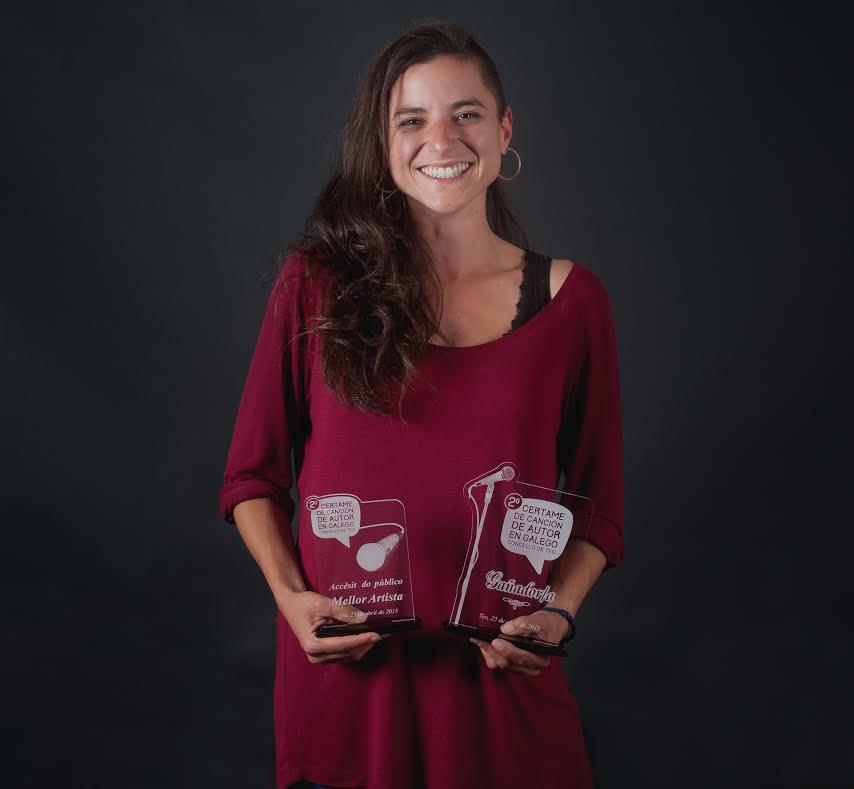 Sofía Espiñeira gaña o II Certame de Canción de Autor en Galego