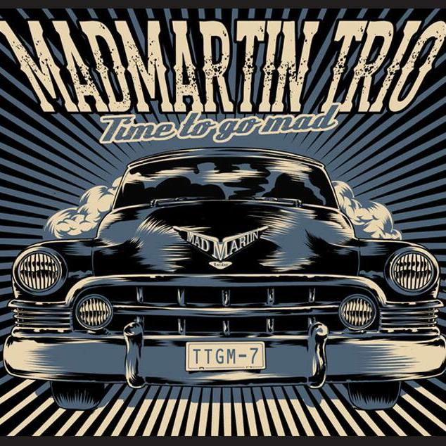 MadMartin Trio publica o seu primeiro LP <i>Time To Go Mad</i>