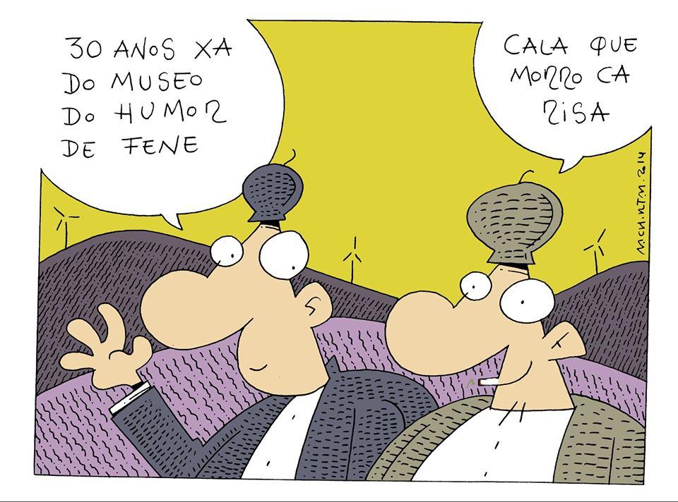 O debuxante tivo un activo papel no desenvolvemento da BD galega ademais de colaborar en diversos xornais