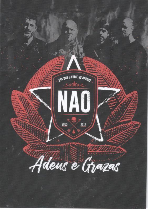 Publícase 'Adeus e grazas', o DVD que recolle o concerto de despedida dos NAO fai un ano