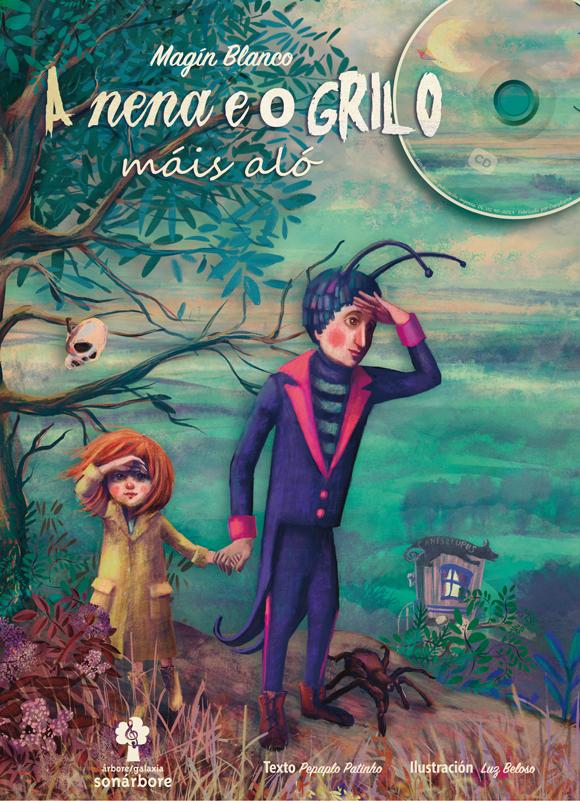 O libro-CD conta cunha versión teatral da man de Teatro dos Ghazafelhos