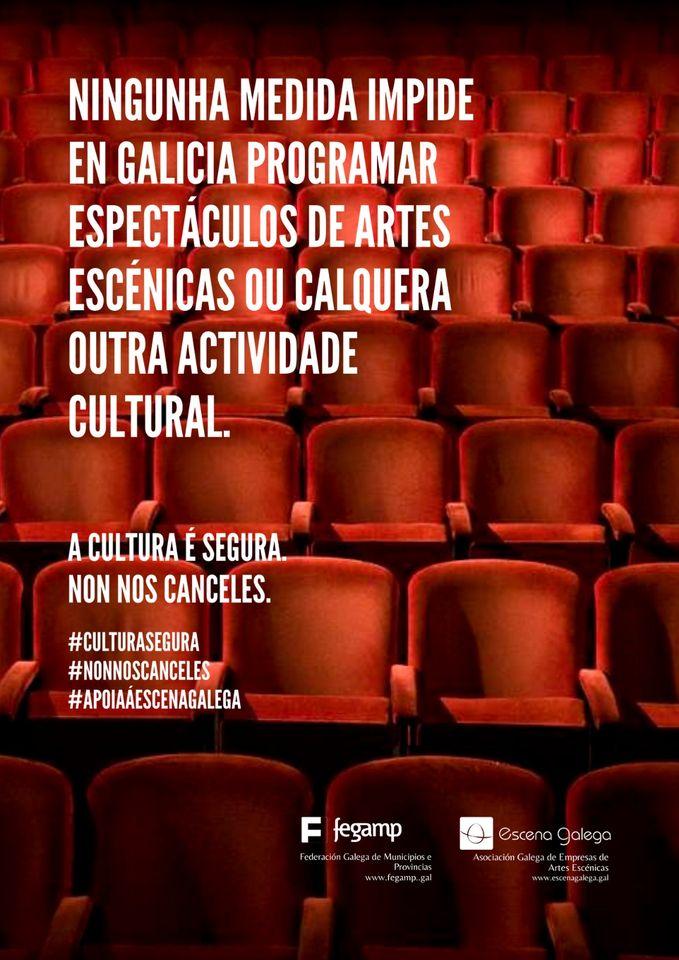 A Fegamp dirixe unha campaña aos seus concellos para manter as programacións culturais
