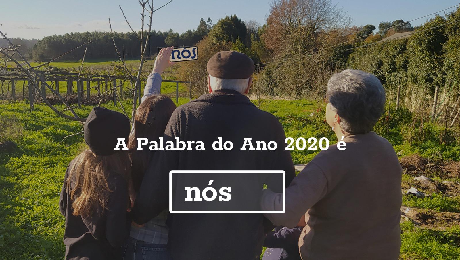 As votacións elixen 'Nós' como palabra galega do ano 2020
