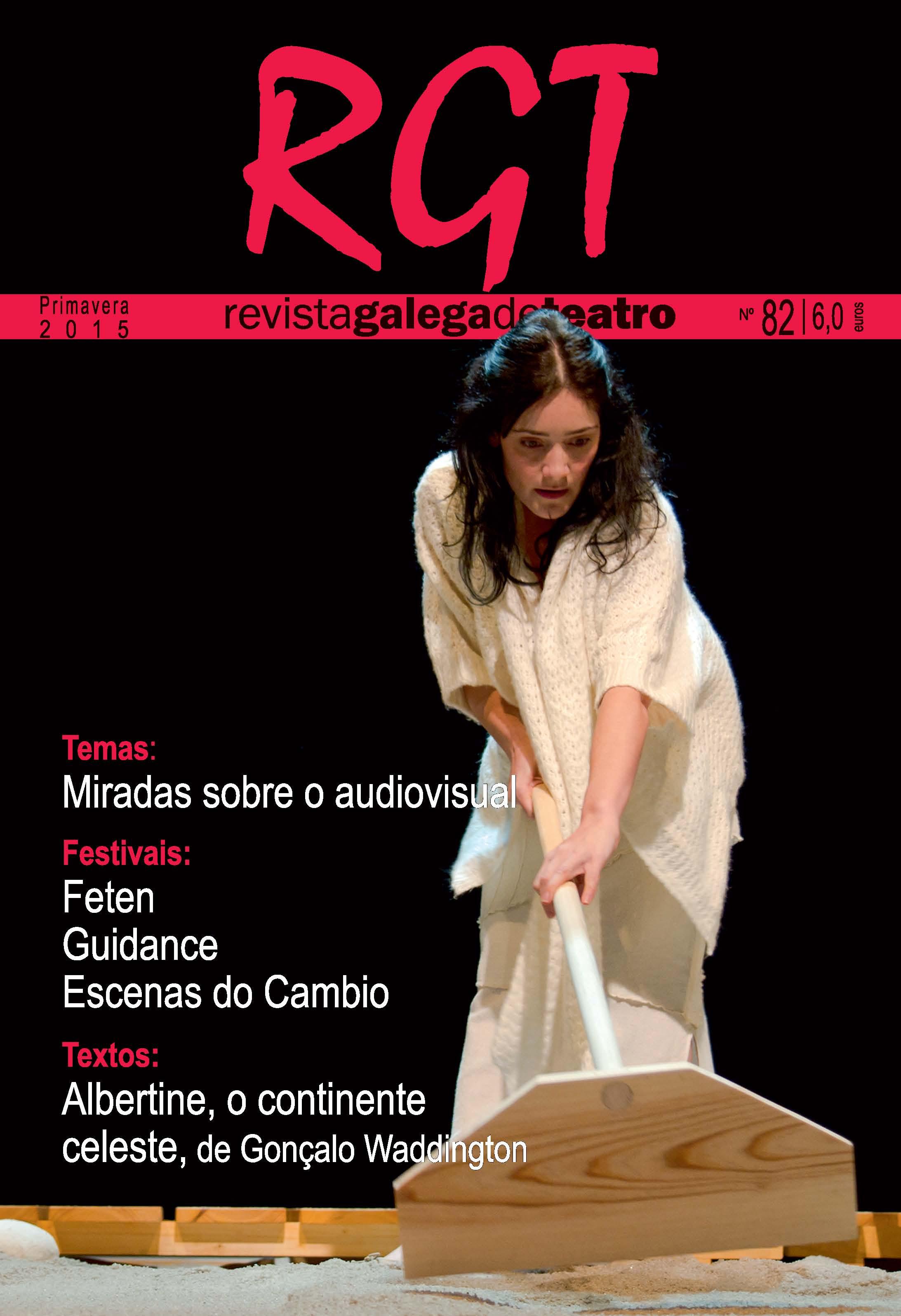 Quiosco: <i>Revista Galega de Teatro</i> número 82