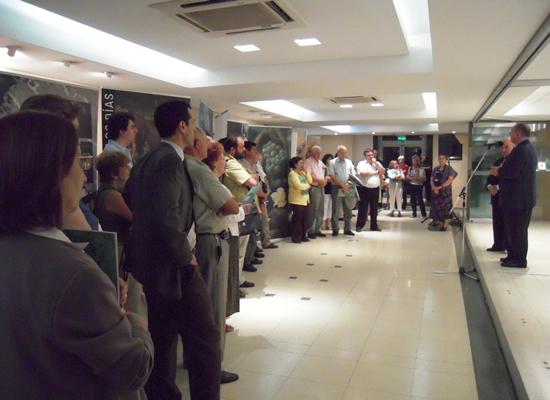Coa presentación da publicación remata a visita de Ramón Villares ao país austral