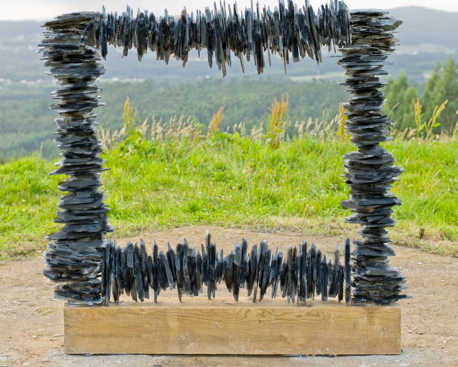 O Encontro Internacional de Land Art achega nove creadores desta disciplina a Narón
