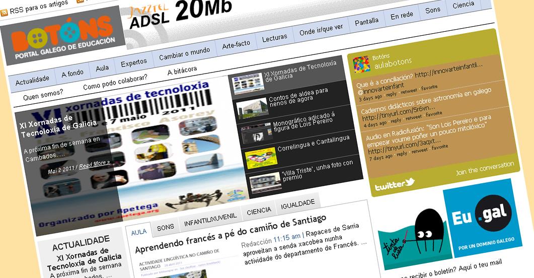 O portal galego de educación recolle iniciativas que se desenvolven en todo o país
