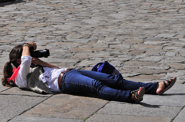 Participantes no Marat�n Fotogr�fico. Foto: Sole Felloza