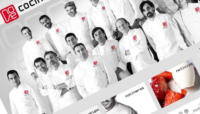 O Grupo Nove de cociña de avangarda galega celebra o seu décimo aniversario