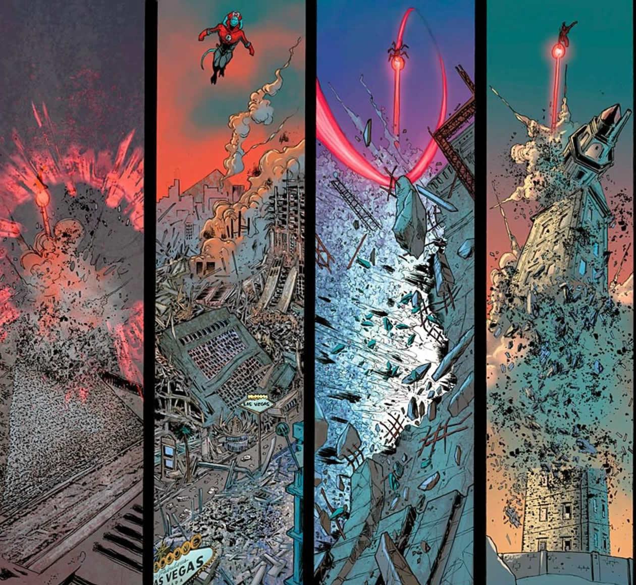 Publícase na serie de DC Cómics <i>Red Lanterns</i>