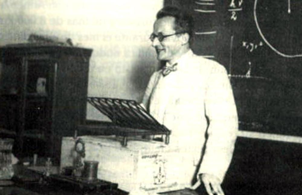 Crónica da primeira visita dun Nobel a unha Galicia que espertaba á ciencia