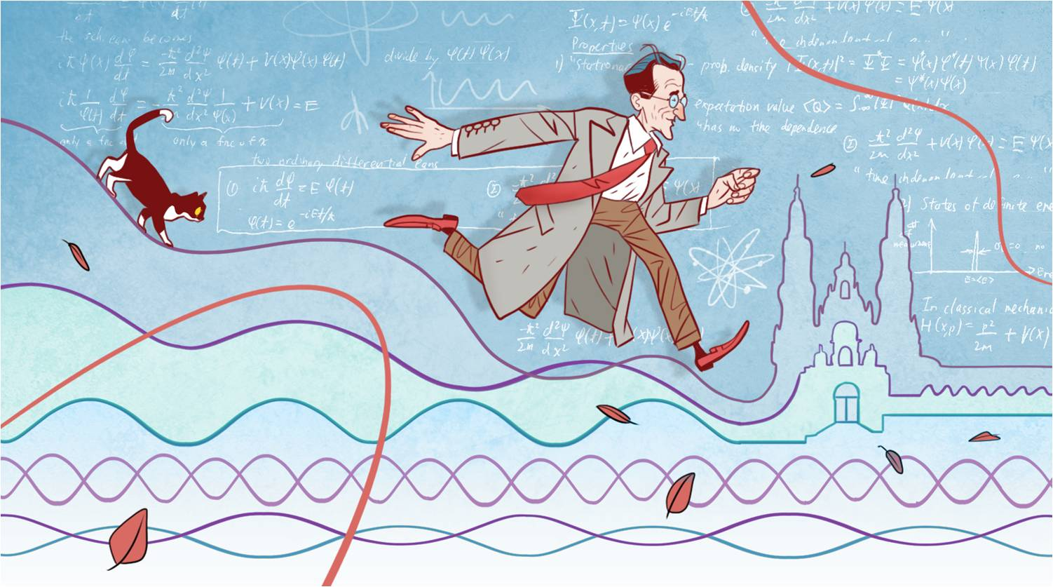 A ecuación que leva o nome do físico austríaco, esencial na revolución da física cuántica