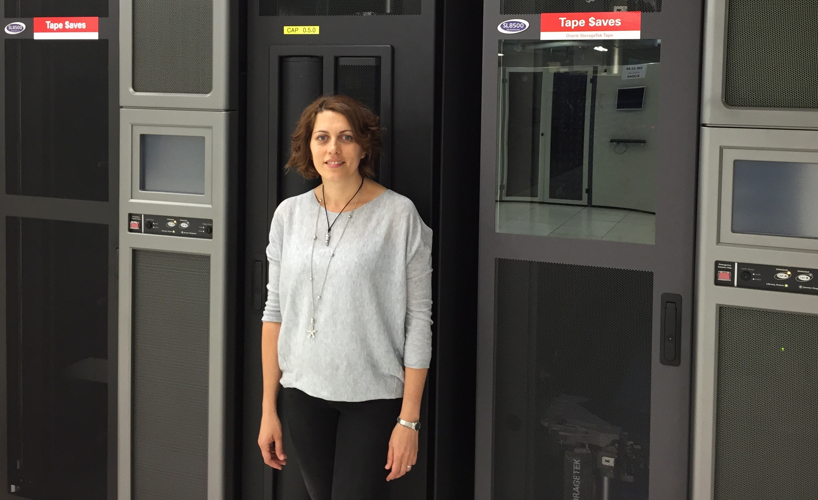A informática ourensá Eva Dafonte é subdirectora dun equipo indispensable para o funcionamento do CERN