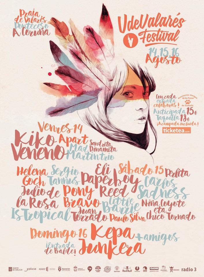 O festival V de Valarés celebrarase finalmente en agosto