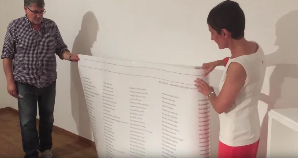 Os comisarios da mostra amósannos as pezas máis representativas da exposición