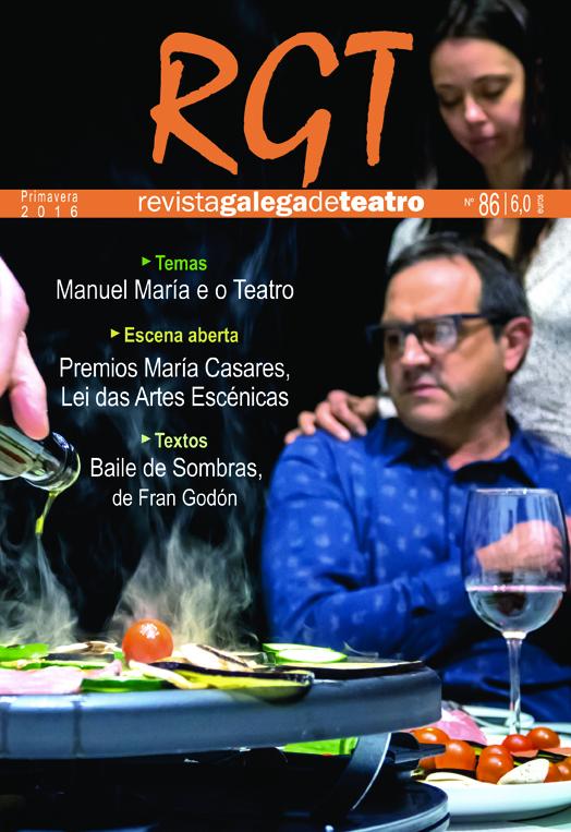 Quiosco: Revista Galega de Teatro Número 86