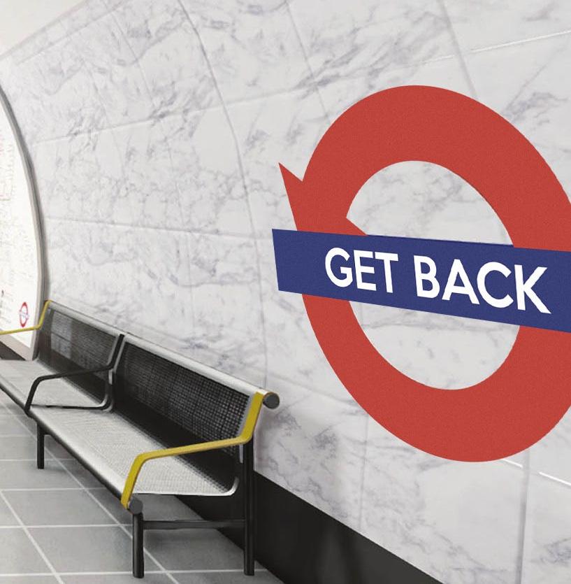 Emedous leva ás táboas os conflitos dos galegos en Londres con <i>Get Back</i>