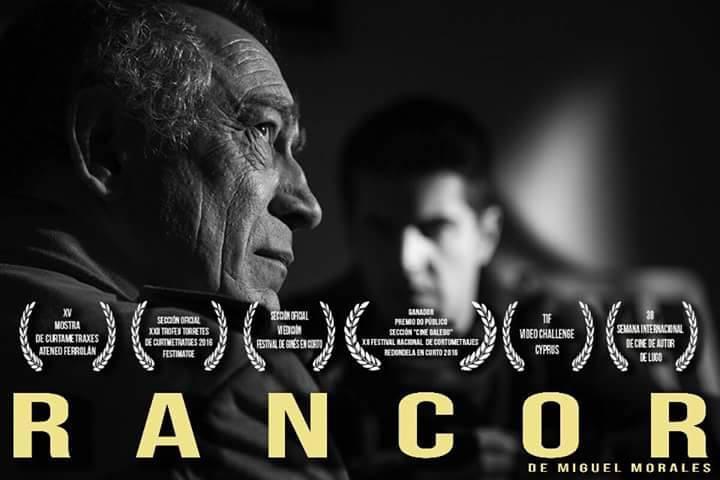 A película de Miguel Morales <i>Rancor</i> gaña na sección de cine galego