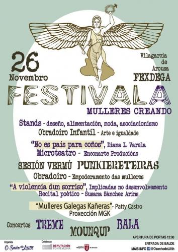 O evento está organizado pola asociación O soño de Lilith en Vilagarcía