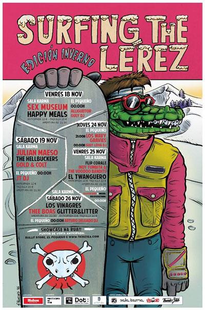 O festival Surfing The Lérez comeza este venres a súa edición invernal