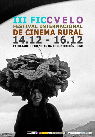 A terceira edición do Festival Internacional de Cinema Rural terá lugar en Santiago
