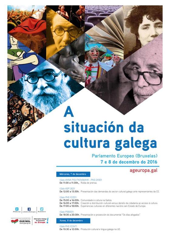 Sesenta e cinco representantes do sector cultural irán ao Parlamento Europeo invitados por AGE