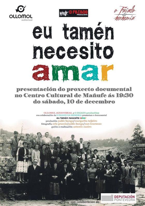 Antonio Caeiro aborda nun documental a represión da ditadura sobre a vida íntima