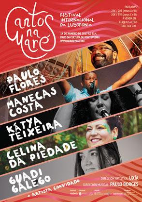 O festival musical da lusofonía celebrarase en Pontevedra o 14 de xaneiro