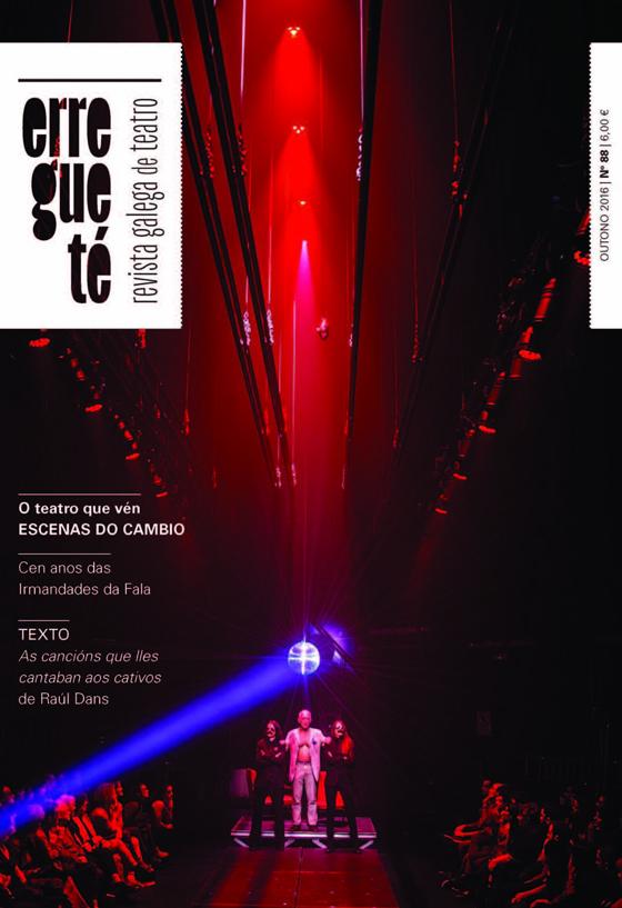 A Revista Galega de Teatro saca á rúa o seu número 88
