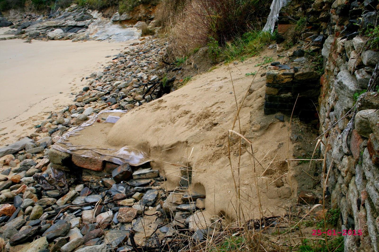 A costa galega está chea de sitios arqueolóxicos en perigo de desaparición