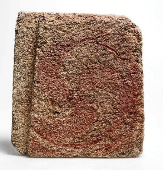 Sería a primeira destas formas representada con pintura no noroeste