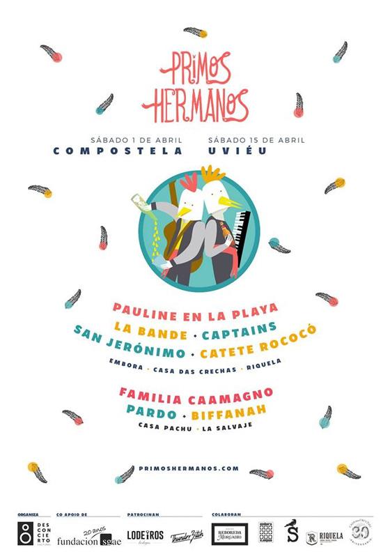 O festival astur-galaico Primos Hermanos anuncia datas e cartel da cuarta edición