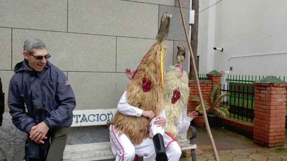 A Mascarada Ibérica concentra en Viana e Vilariño representantes de entroidos de toda a Península