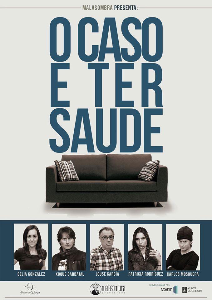 A nova comedia da compañía de Xoque Carbajal preséntase no Auditorio de Soutelo