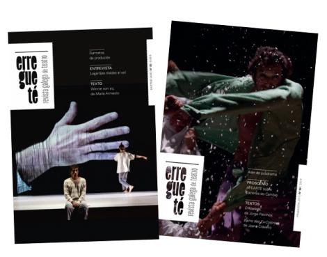 Dupla entrega da renovada Revista Galega de Teatro