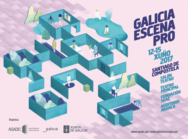 A quinta edición deste mercado das artes escénicas terá lugar en Santiago do 12 ao 15 de xuño