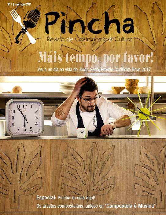 A revista compostelá sobre gastronomía e cultura nace en papel con carácter bimensual