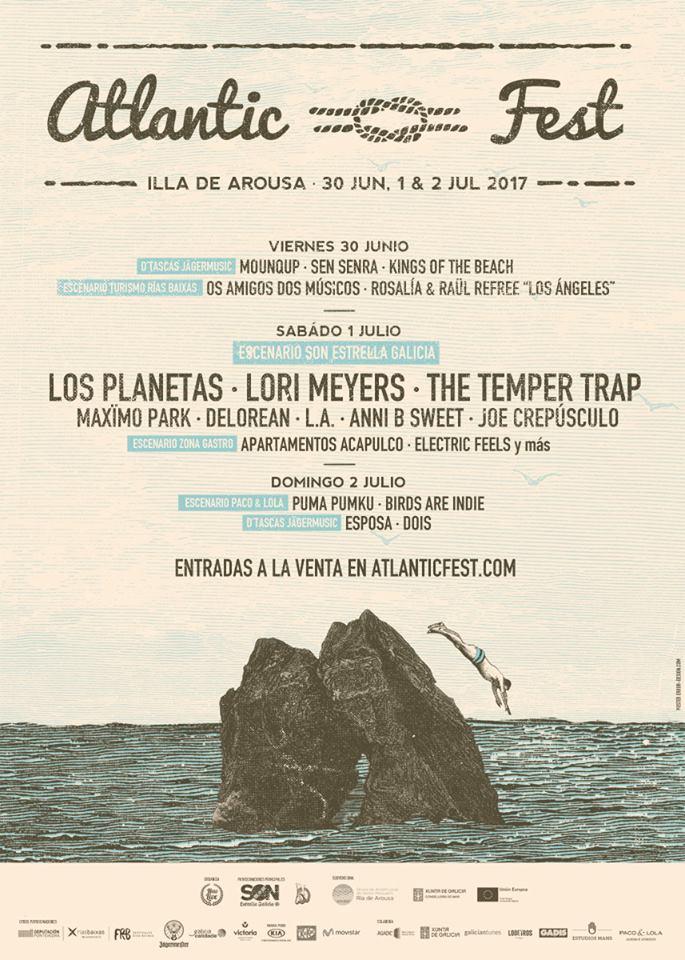 O festival da Illa de Arousa ven de anunciar dez novas incorporacións á súa oferta musical