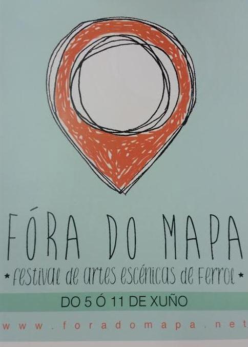 A escena teatral localízase en Ferrol con Fóra do Mapa