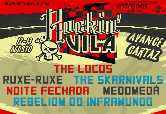 O punk rock galego darase cita no Rockin'Vila en Arousa
