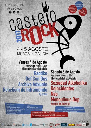 O Rock in Río Tea de Ponteareas vai abrindo boca todo o mes con rock e gastronomía popular