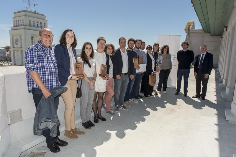 O xurado seleccionou cinco propostas entre as 21 presentadas para esta primeira edición do premio