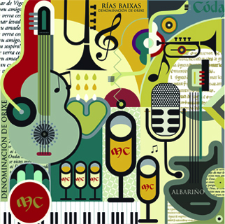 As dúas propostas organizadas desde adegas das Rías Baixas ofrecen música en directo no verán